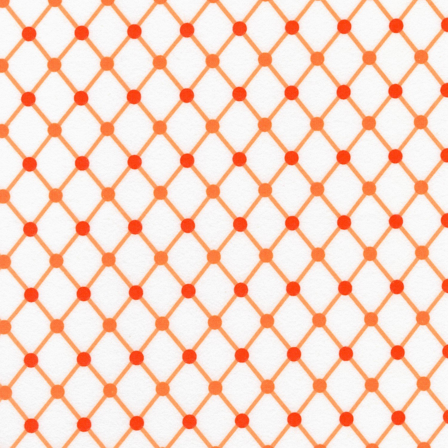 RK - Cozy Cotton SRKF-16229-8 Orange Diamonds Flannel