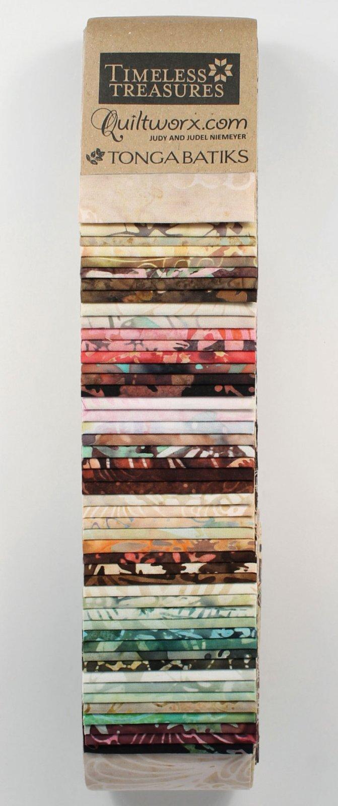 Timeless - Tonga Strip - Heirloom Batik Strips