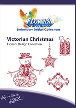 Floriani - Victorian Christmas; Embroidery Design Collections CD