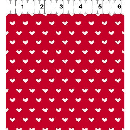Clothworks - Vintage Valentine Y2029-4 Light Red
