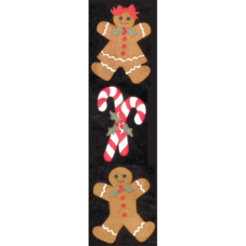Gingerbread & Candy Canes Wool Felt KIT