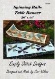 Spinning Rails Table Runner Pattern