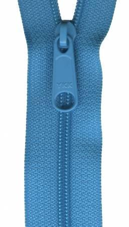 Handbag Zipper 24in Parrot Blue