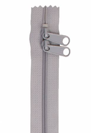 Handbag Zipper 30in Pewter