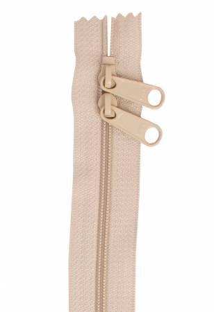 Handbag Zipper 30in Double-slide Natural
