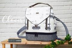 The Clover Convertible Bag Acrylic Templates