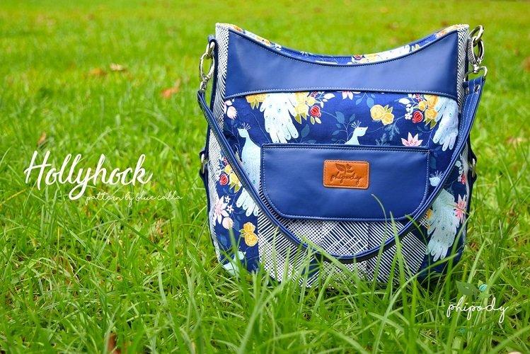 Hollyhock Hobo Bag Acrylic Templates