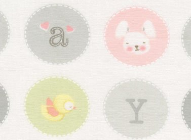 Baby Girl Dots Pink & Grey