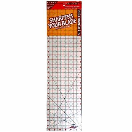 The Cutting Edge Ruler 6.5 x 24.5