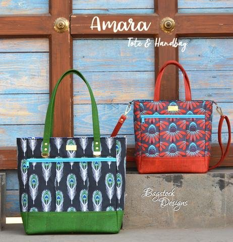 Amara Tote & Handbag Acrylic Templates