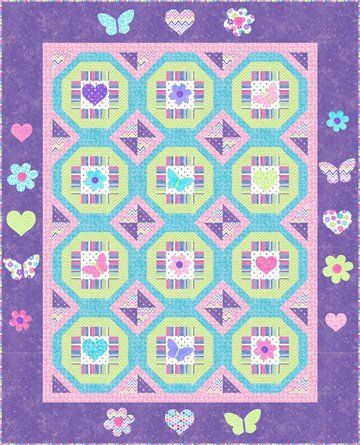 Ashley pattern by Kate Mitchell Quilts