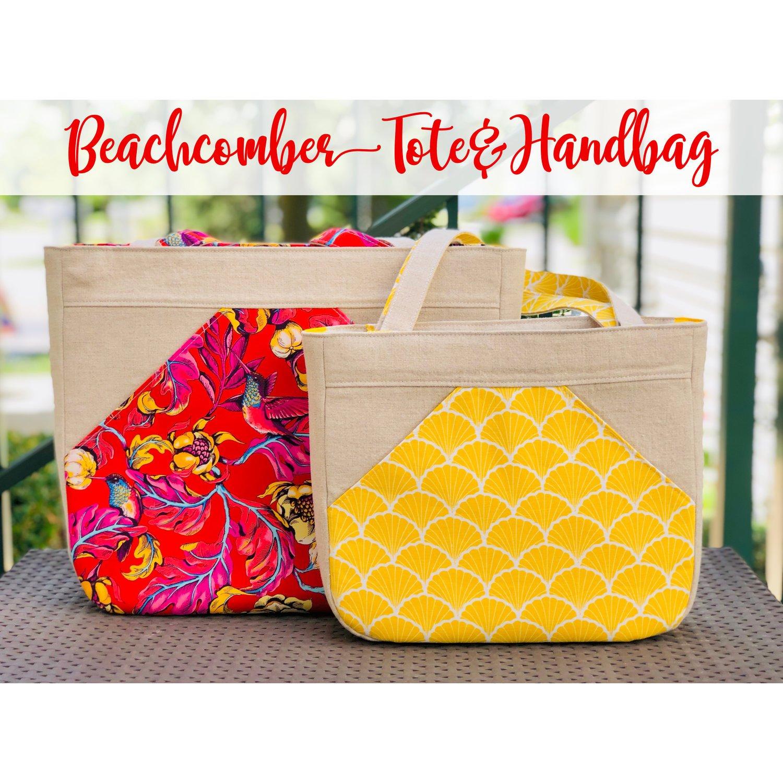 The Beachcomber Tote & Handbag Acrylic Templates