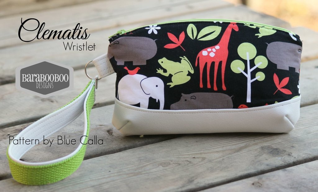 The Clematis Wristlet Acrylic Templates