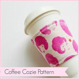 Coffee Cozie Acrylic Template
