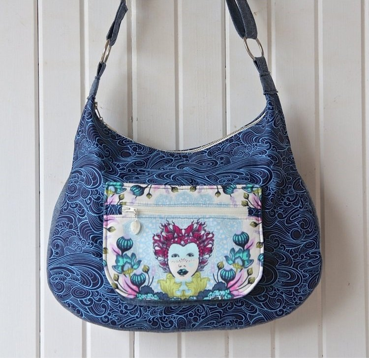 The Hydrangea Hobo Bag Acrylic Templates
