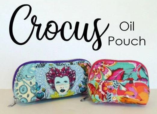 The Crocus Oil Pouch Acrylic Templates