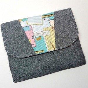 Dakota Tablet Clutch Acrylic Templates