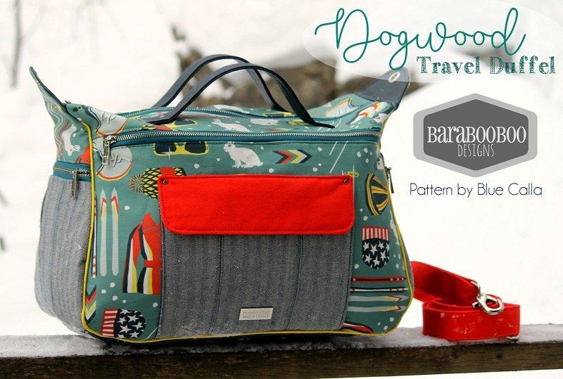 The Dogwood Travel Duffel Bag Acrylic Templates