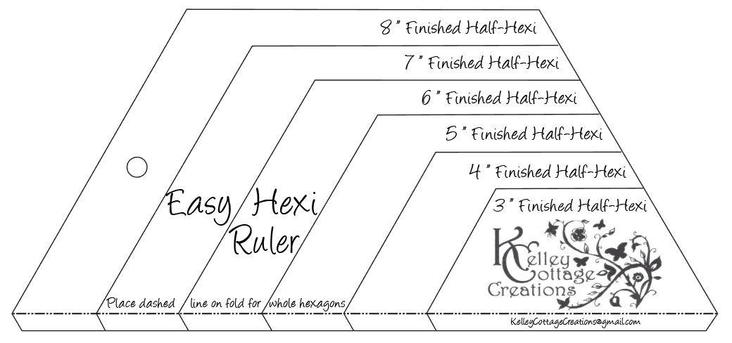 Easy Hexi Ruler