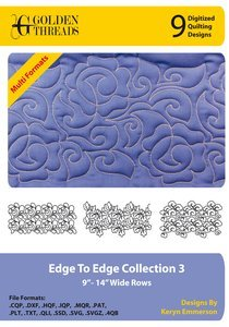 Edge To Edge Collection 3 - Digitized Quilting Designs