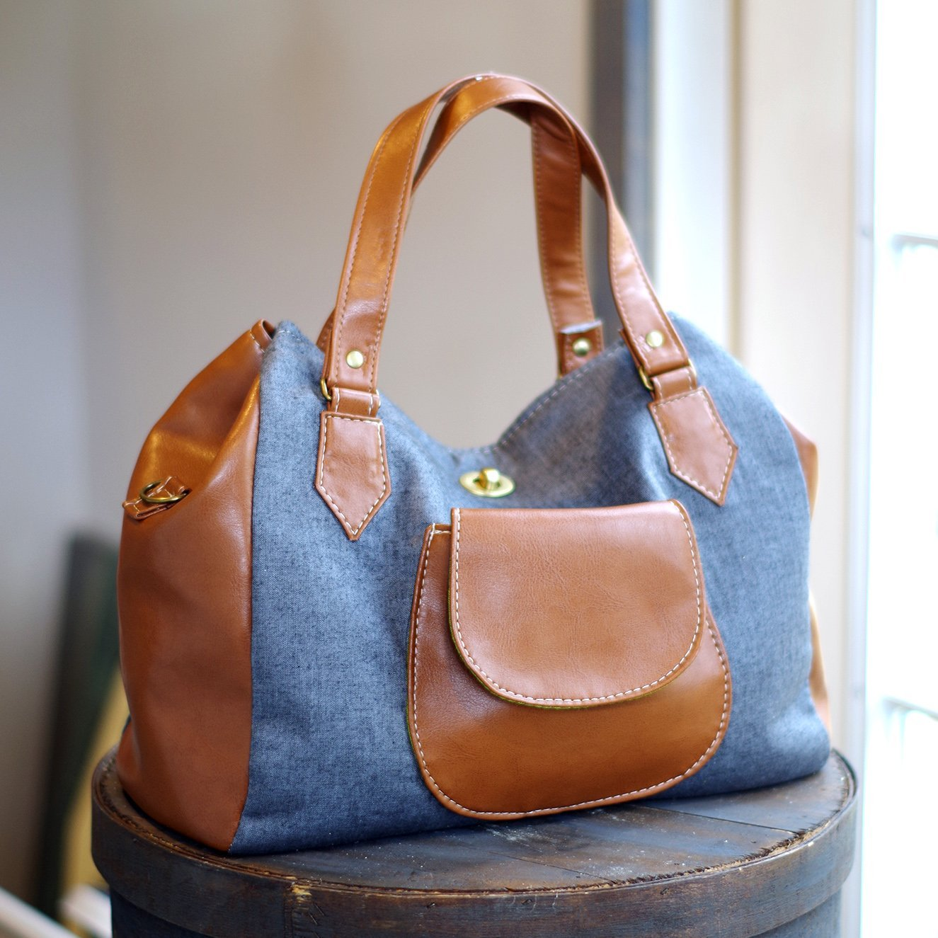 Frankie Handbag Tote Acrylic Templates