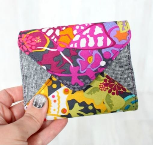 Front and Back Envelope Wallet Acrylic Templates