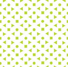 Bloom Modern II Geo-Dot Green