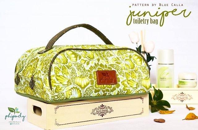 The Juniper Toiletry Bag Acrylic Templates