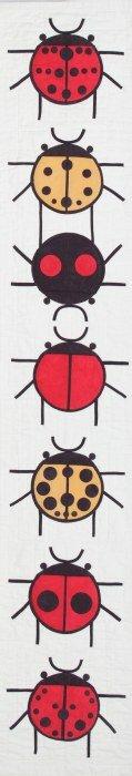 A Ladybug Sampler pattern