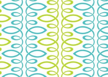 Bloom Modern II Loopy Green-Teal