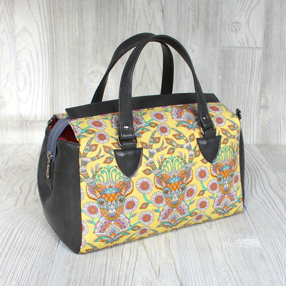 Louise Barrel Bag Acrylic Templates