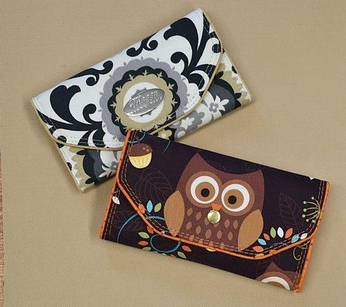 Slim Tri-Fold Wallet (FABRIC VERSION) Acrylic Templates