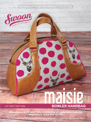 Maisie Bowler Handbag pattern from Swoon Sewing Patterns by Alicia ...