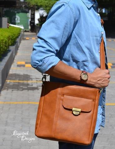 Marina Unisex Crossbody Bag Acrylic Templates