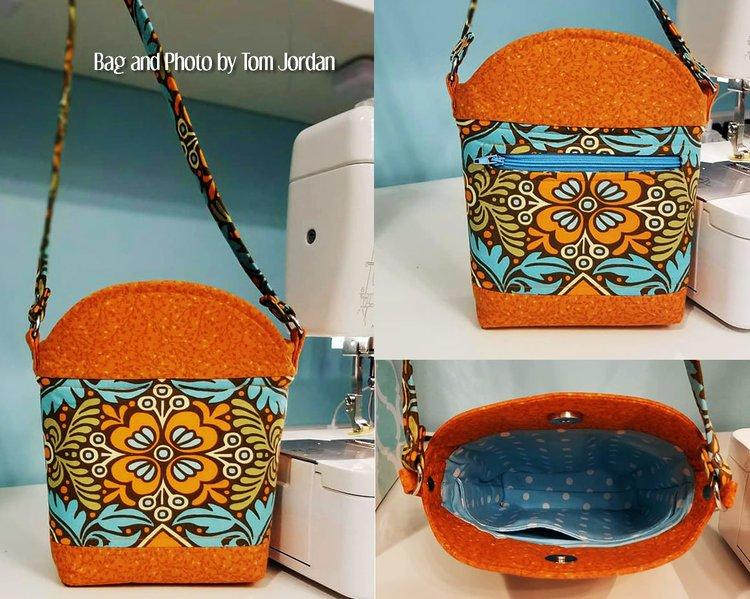 The Mayla Little Bucket Bag Acrylic Templates