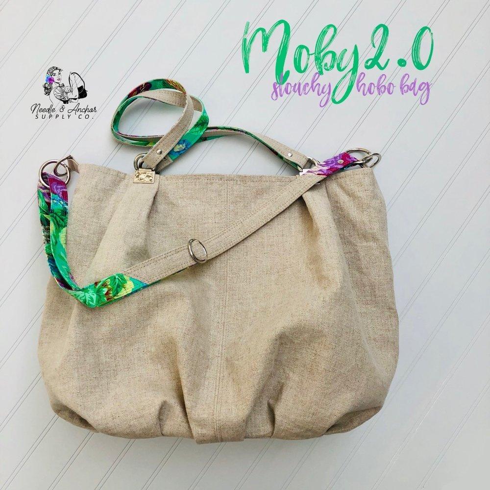 Moby 2.0 Slouchy Hobo Bag Acrylic Templates