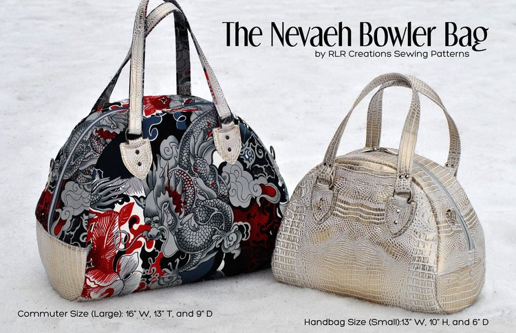 The Neveah Bowler Bag Acrylic Templates