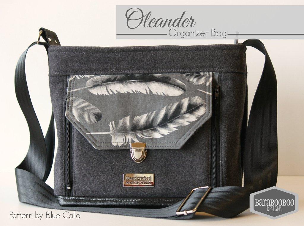 The Oleander Organizer Bag Acrylic Templates