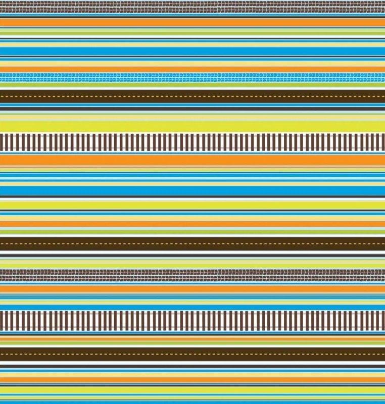 On The Go Stripes Blue C3186