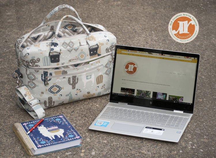 The Percival Laptop Briefcase Acrylic Templates