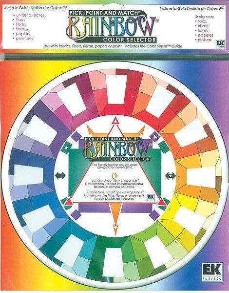 Rainbow Color Selector Wheel