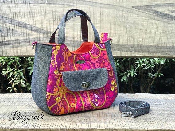 Ruby Handbag Acrylic Templates