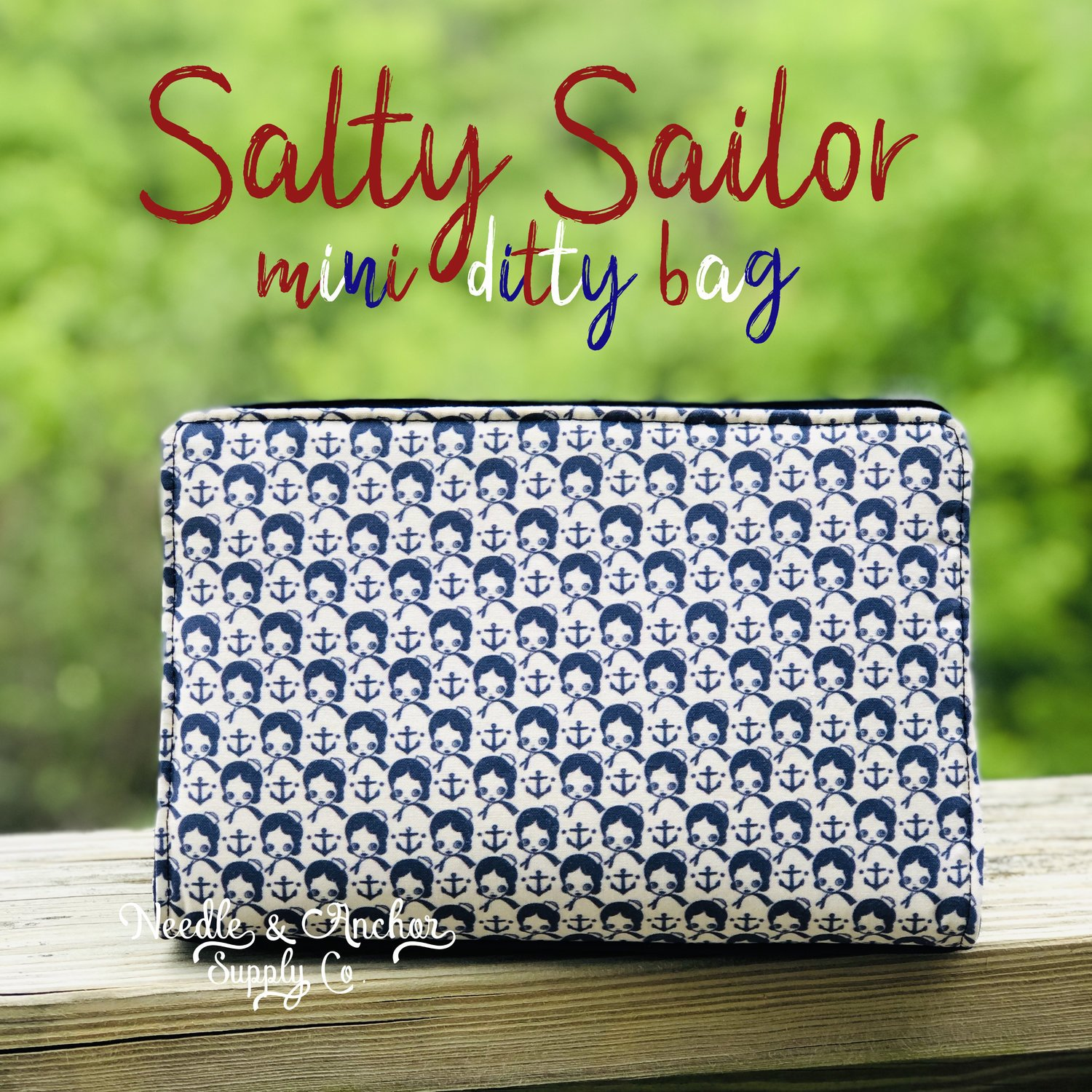 Salty Sailor Mini Ditty Bag Acrylic Templates