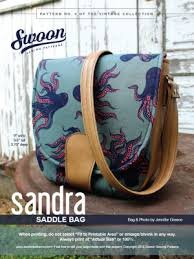 Sandra Saddlebag pattern from Swoon Sewing Patterns by Alicia Miller
