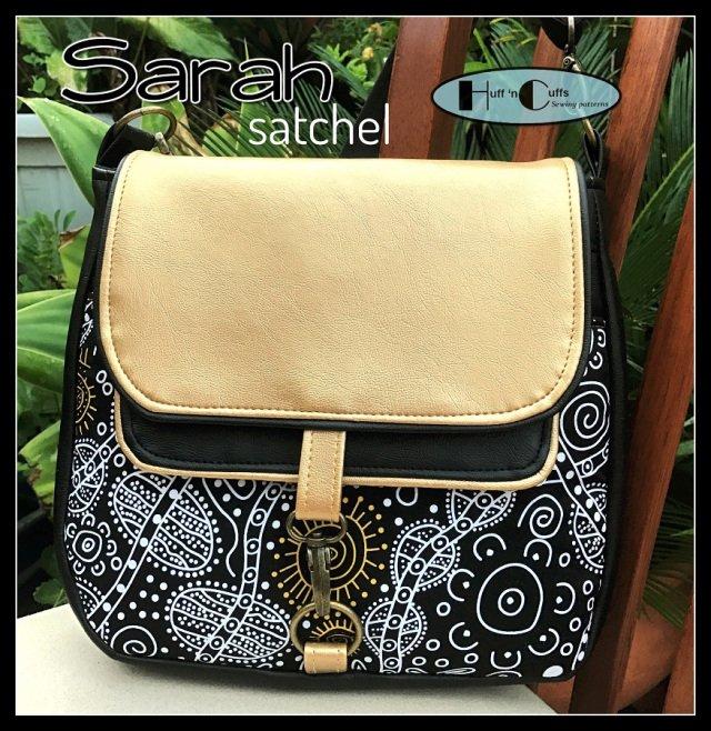 Sarah Satchel Acrylic Templates