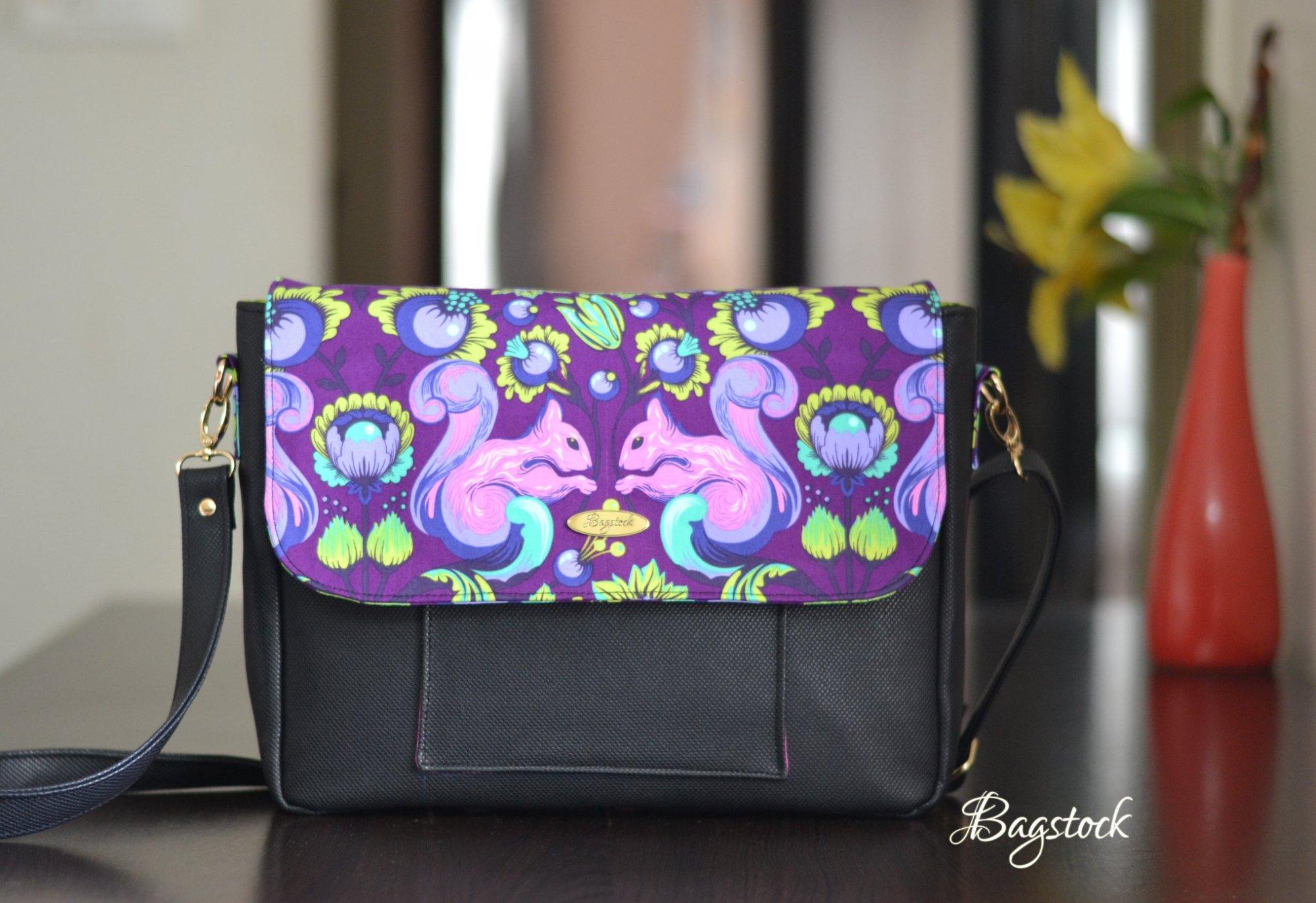 Starling Messenger Bag Acrylic Templates