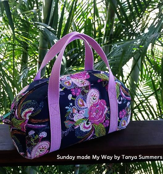 The Sunday My Way Bag Acrylic Templates