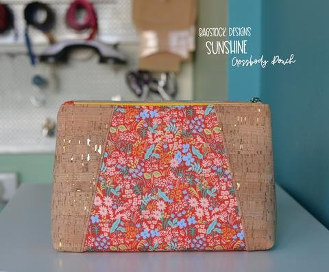 Sunshine Crossbody Pouch Acrylic Templates