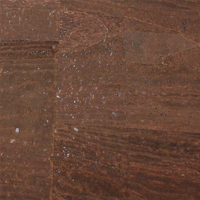 Brown cork fabric, Surface texture