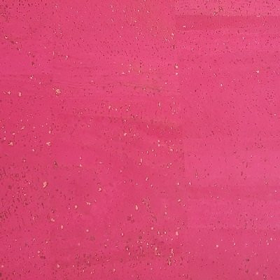 Fuchsia cork fabric, Surface texture